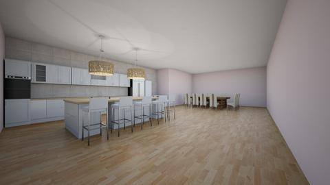 kitchen design - Modern - Kitchen  - by ezragrae