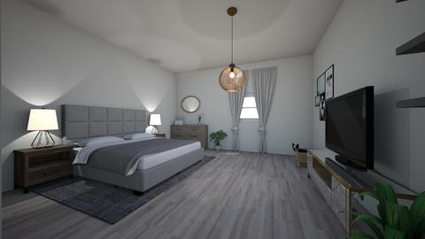 Wood - Minimal - Bedroom  - by makanylili