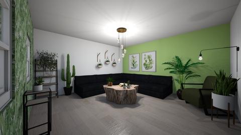 Plant room - Living room  - by Noa Jones