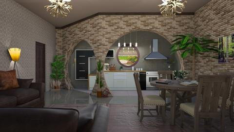 kitchen and dining - by ilcsi1860