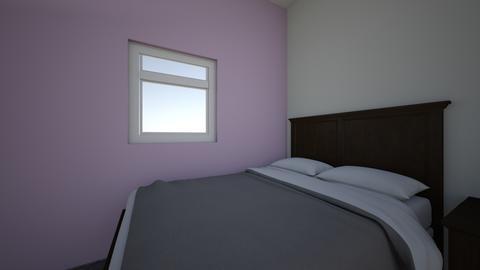 college room - Bedroom - by aysamendez24