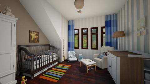 Rowan - Kids room  - by FranChi