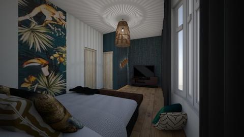 bedroom rene en astrid - Bedroom - by MarcellaNuijten