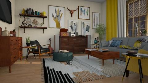 Apartment - Eclectic - Living room  - by katarina_petakovi