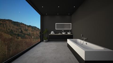 Dark Bathroom - Bathroom - by Ryan_22_