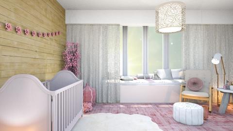 Baby girl room - Kids room  - by MarvelGlimmer