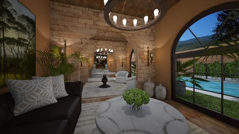 Spanish Vibes - Rustic - Living room  - by nicquo40
