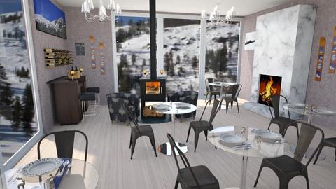 Apres Ski Restaurant - by KarJef