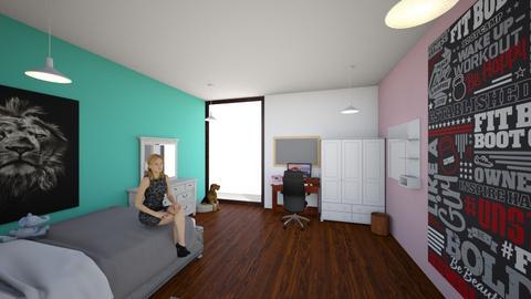room h21 - Bedroom  - by hkatehh