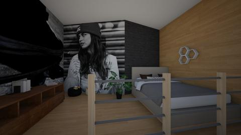 Skater girl - Eclectic - Bedroom  - by hannahelise