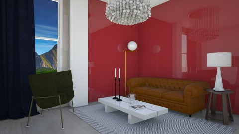 Glossy Living - Glamour - Living room  - by 3rdfloor