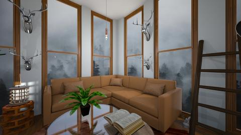 I like the corner  - Country - Living room  - by Yui Soo