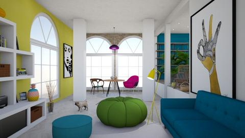 FannyFan - Modern - Living room - by jasminjenia