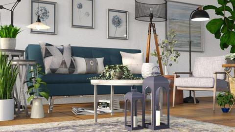 Lamps and Round Tables - Living room  - by millerfam