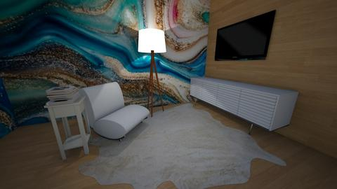 Marble - Modern - Living room  - by hannahelise