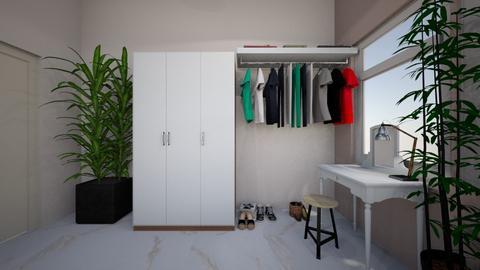 corner1 - Bedroom  - by sunshiyane