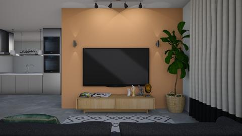 2 - Country - Living room - by yosef