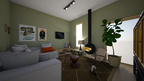 Willianne en Arjan kids - Living room  - by sannewiekamp