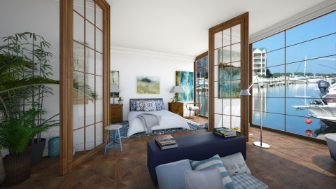 Harbour View - Modern - Bedroom - by camilla_saurus