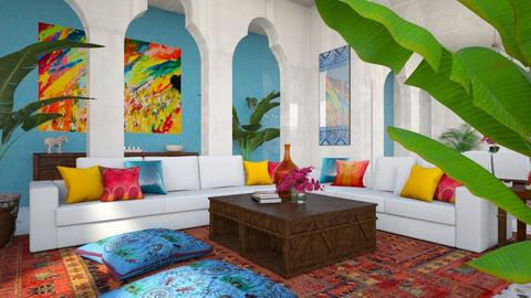 indian living2 - Living room  - by smunro7
