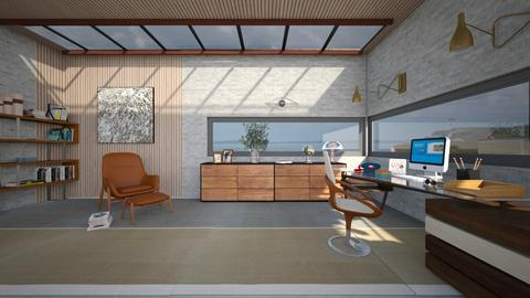 WFH - Modern - Office  - by kitty