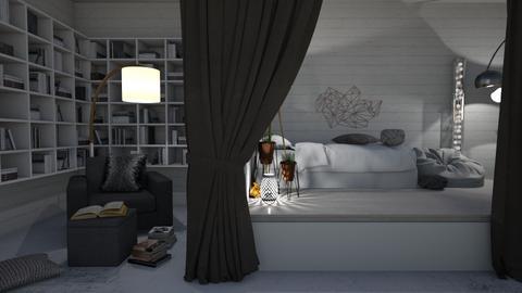 Bed Nook Remix - Bedroom  - by KittyKat28