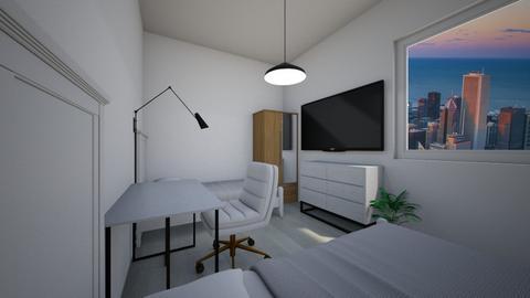 blurry office - Bedroom  - by Veronika_Volstatova