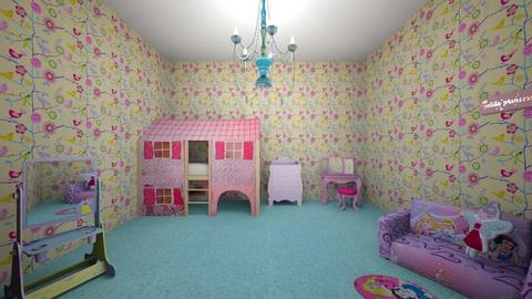 Princess Bedroom - Kids room - by Faith Forever