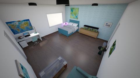 water bedroom - Bedroom  - by cindyloohoo