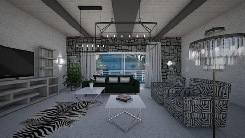 Cr - Modern - Living room - by Saj Trinaest