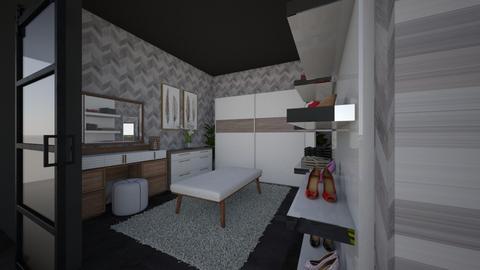 Walk in closet ESO - Modern - Bedroom  - by tora97