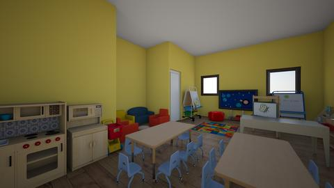 preschool room - Kids room - by 66A067AF3EE07E1B248CBDBBC6101C51036