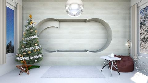 Christmas corner - Minimal - Living room  - by Agamanta