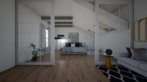 simple - Modern - Bedroom - by elizabethwatt16
