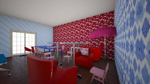 the red blue room - Global - Dining room - by in3213