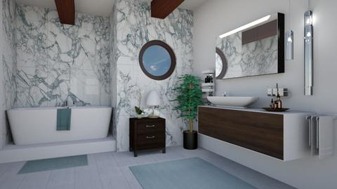 Mid Century Bathroom - Bathroom - by lotsofglory