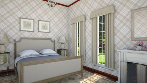 Elderly Bedrom - Vintage - Bedroom  - by mclaraop