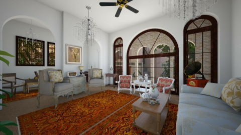 persian home - Classic - Living room  - by yasamanmahmoodi