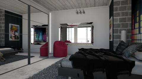 musical bedroom  - Glamour - Bedroom  - by Nourhaan Adel