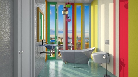 MultiColor - Bathroom  - by Cailyn V