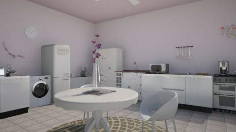 Purple kitchen - Glamour - Kitchen  - by Bige