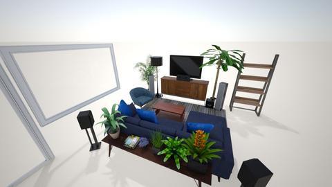 Wohnzimmer - Living room  - by reisu