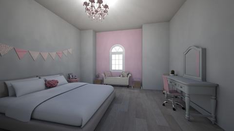 little girl bedroom - Glamour - Bedroom - by Caitlink2506
