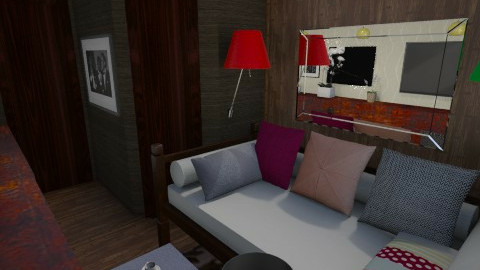 Nakagi Capsule Room 2 - Modern - Kids room  - by Evangeline_The_Unicorn