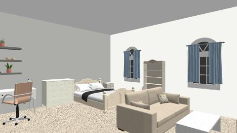 dori bedroom - Eclectic - Bedroom  - by dorianastipic