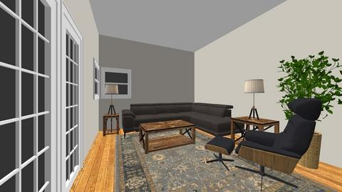 Hamid - Living room - by Mittemiller