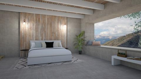 mountain bedroom 2 - Bedroom - by irisrmks