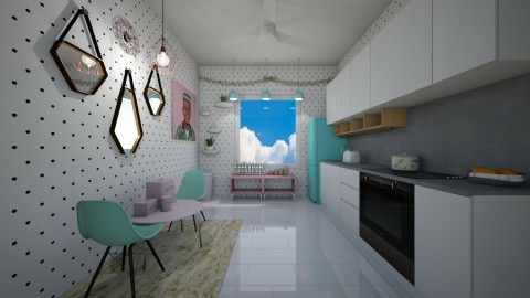 Kitchen room - Modern - Kitchen - by Diana Pham