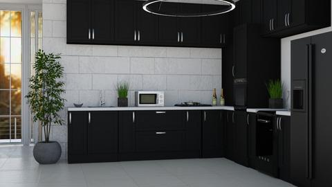 Small and Classy 2 - Modern - Kitchen  - by millerfam