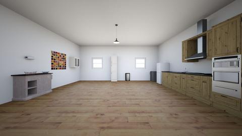 kitchen layout - Kitchen - by Kimverly16
